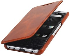 Фото Blackberry Keyone StilGut book type without clip Brown