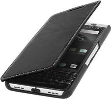 Фото Blackberry Keyone StilGut book type without clip Black Nappa
