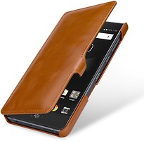 Фото Blackberry Motion StilGut book type with clip Brown