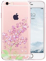Фото Hoco TPU case Super Star Series Inner Diamond for Apple iPhone 6/6S Lilac