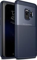 Фото iPaky Elegant Grid Design TPU Hybrid Case Samsung Galaxy S9 G960F Blue