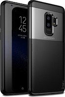 Фото iPaky Elegant Grid Design TPU Hybrid Case Samsung Galaxy S9 Plus G965F Black