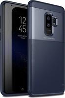 Фото iPaky Elegant Grid Design TPU Hybrid Case Samsung Galaxy S9 Plus G965F Blue