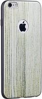 Фото Hoco Element Series Wood Grain Apple iPhone 6/6S White oak