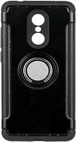 Фото ColorWay Противоударный чехол с кольцом и пластиной Xiaomi Redmi 5 Black (CW-CPTMRXR5-BK)