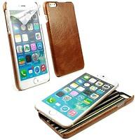 Фото Alston Craig Vintage Leather Slim Shell Case Apple iPhone 6 Plus/6S Plus Brown (J1_24)