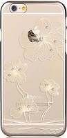 Фото Comma Crystal Flora for Apple iPhone 6/6S Champagne Gold