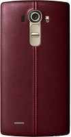 LG G4 H818 Leather Battery Cover Red (CPR-110.AGEUBR)