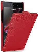 Фото Tetded Premium Leather Case for Sony Xperia Z1 Red (SYXPZ1TSRD)