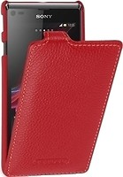 Фото Tetded Premium Leather Case for Sony Xperia L Red (SYS36HTSRD)