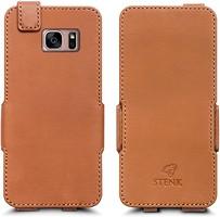 Фото Stenk Prime Flip Case Samsung Galaxy S7 Edge Camel