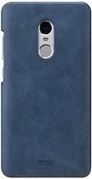 Фото Mofi Xiaomi Redmi Note 4X PU Leather Case Navy Blue