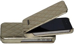 Фото Nuoku Only for Apple iPhone 4/4S gold