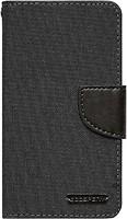 Фото Goospery Canvas Diary Universal 4.5-5.0 Black