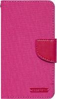 Фото Goospery Canvas Diary Universal 4.5-5.0 Hot Pink