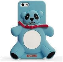 Фото Moschino Panda Apple iPhone 5/5S/SE Blue