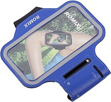 Фото Romix Touch Screen Armband Case Blue (RH07-4.7BL)
