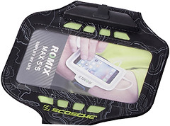 Фото Romix Touch Screen Armband Case LED Black (RH19-5.5W)