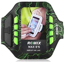 Фото Romix Touch Screen Armband Case Green LED (RH19-5.5GN)