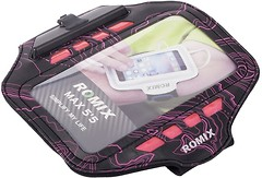 Фото Romix Touch Screen Armband Case LED Pink (RH19-5.5P)