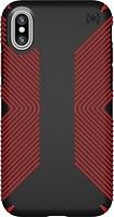 Фото Speck Apple iPhone X Presidio Grip Black/Dark Poppy Red (SP-103131-C305)