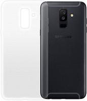 Фото GlobalCase Samsung Galaxy A6+ Extra Slim TPU светлый