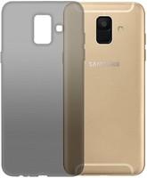 Фото GlobalCase Samsung Galaxy A6 Extra Slim TPU темный