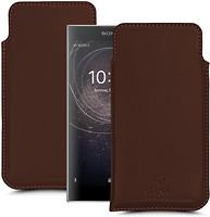 Фото Stenk Elegance Sony Xperia XA2 коричневый