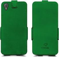 Фото Stenk Prime Flip Case Sony Xperia XA1 Plus зеленый