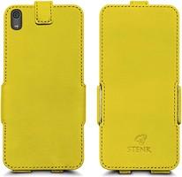 Фото Stenk Prime Flip Case Sony Xperia XA1 Ultra желтый