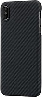 Фото Pitaka Aramid Case for Apple iPhone Xs Max Black/Grey (KI9001XM)