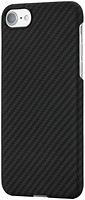 Фото Pitaka Aramid Case for Apple iPhone 7/8 Black/Grey (K17001)