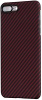 Фото Pitaka Aramid Case for Apple iPhone 7 Plus/8 Plus Black/Red (KI8003S)