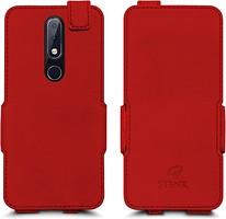 Фото Stenk Prime Flip Case Nokia X6 красный