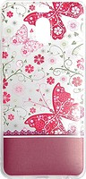 Фото Florence Чехол на Meizu M6 Note Silk 3D Butterflies Transparent (RL052058)