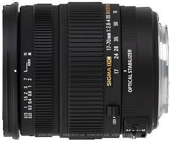 Фото Sigma AF 17-70mm f/2.8-4 DC Macro OS HSM Nikon F