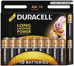 Фото Duracell AA Alkaline 18 шт Basic (81545414)