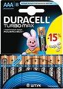 Фото Duracell AAA Alkaline 8 шт Turbo Max (81417105)