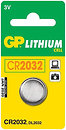 Фото GP Batteries CR-2032 3B Lithium 1 шт