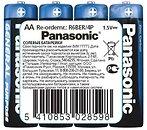 Фото Panasonic AA Zinc-Carbon 4 шт General Purpose (R6BER/4P)