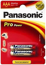 Фото Panasonic AAA Alkaline 2 шт Pro Power (LR03XEG/2BP)