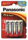 Фото Panasonic AA Alkaline 4+2 шт Pro Power (LR6XEG/6B2F)