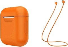 Фото ArmorStandart Silicone Case with Strap for Apple AirPods Orange (ARM51014)