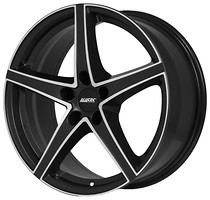 Фото Alutec Raptr (8x19/5x114.3 ET35 d70.1) Racing Black Front Polished