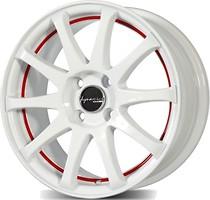 Фото PDW Wheels 826 Racetek (6.5x15/4x98 ET40 d58.6) White