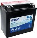 Фото Exide AGM 12 Ah (ETX14-BS)