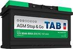 Фото TAB EcoDry AGM 80 Ah (0) (213080, AG80)