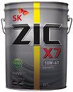 Фото ZIC X7 Diesel 10W-40 20 л