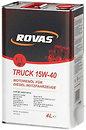 Фото Rovas Truck 15W-40 4 л