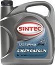 Фото Sintec SUPER GAZOLIN SAE 15W-40 API SG/CD 5 л